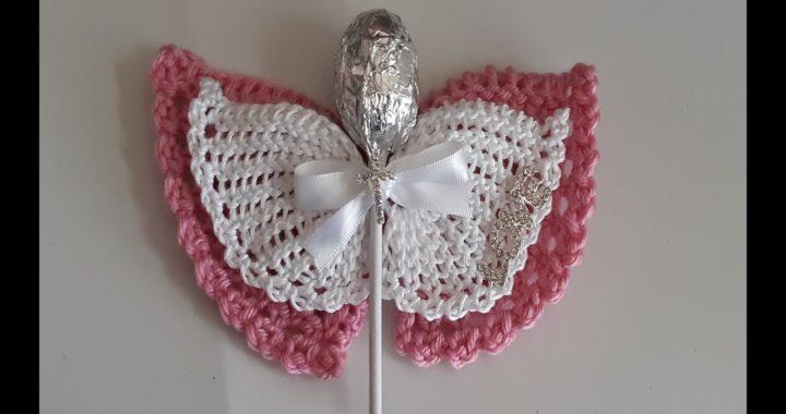 recuerdos a crochet para bautizo  - Angel a crochet fácil de tejer / souvenirs para bautizo
