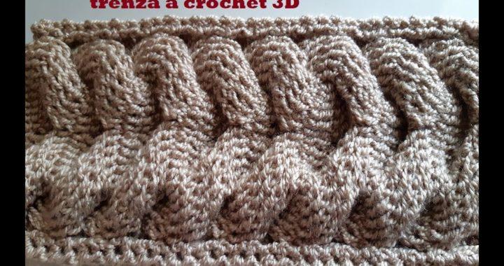 trenza a crochet - tutorial - paso a paso -