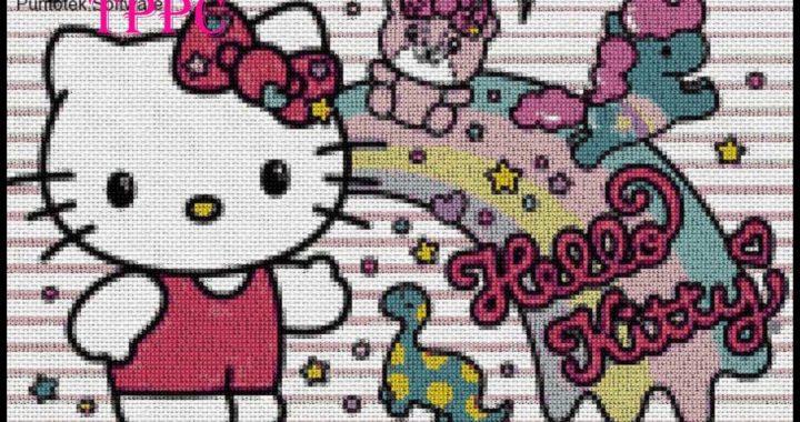 +100 Patrones exclusivos Hello Kitty I | Patrones exclusivos punto de cruz