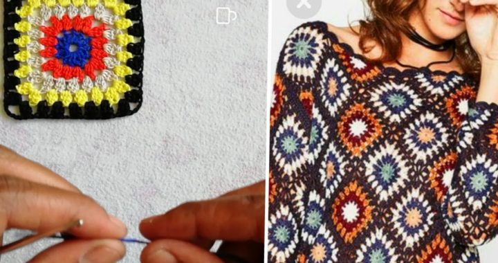 3how to crochet granny square - beginners tutorial & basic pattern