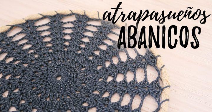 ATRAPASUEÑOS DE ABANICOS A CROCHET | #JardinDeAtrapasueños | Ahuyama Crochet