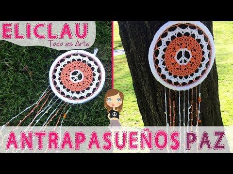 ATRAPASUEÑOS/MÁNDALAS en CROCHET | EliClau