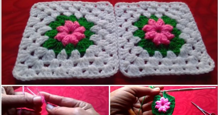 Awesome Crochet Granny Square Making for Cushions/Bedsheets and more