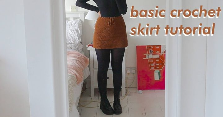 BASIC Crochet Skirt Tutorial | DIY