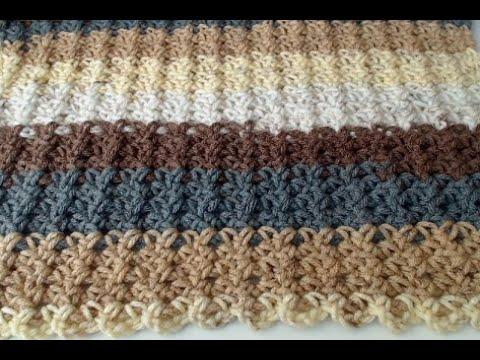 CROCHET A BLANKET. FAST EASY Crochet