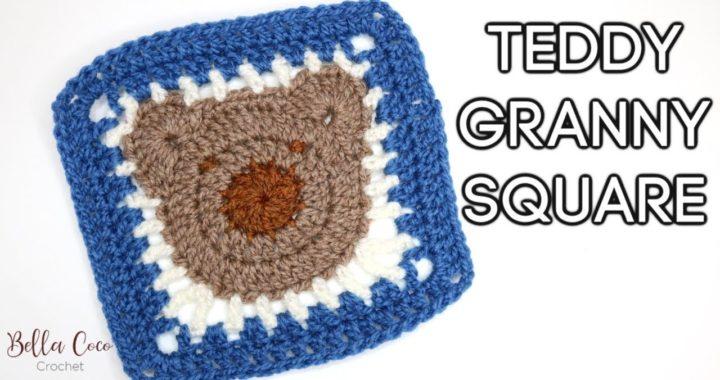 CROCHET: TEDDY GRANNY SQUARE | Bella Coco Crochet AD