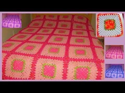 Colcha de Crochê - Como fazer uma colcha de crochê #CristinaCoelhoAlves