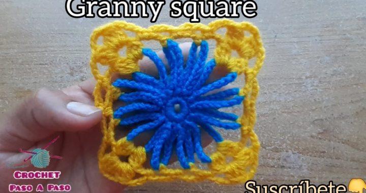 Como tejer Granny Square fácil y rápido