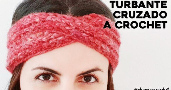 Como tejer TURBANTE / BANDA / DIADEMA a crochet | Ahuyama Crochet | Tutorial paso a paso
