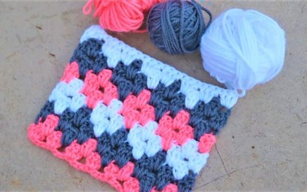 Crochet Block Pattern Easy #short #crochet
