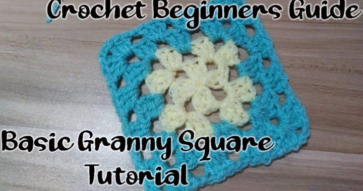 Crochet For Beginners - Basic Granny Square.