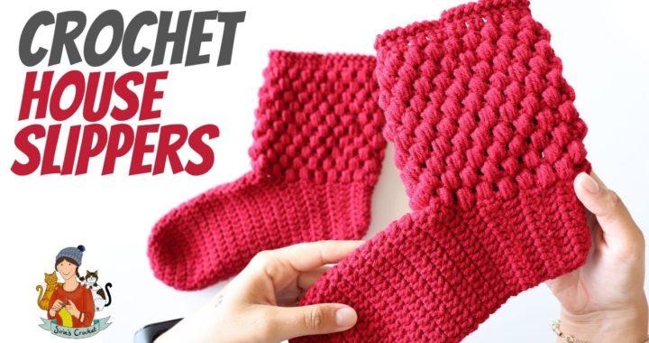 Crochet House Slippers