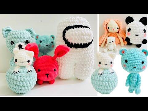 Crochet amigurumi collection #2 how to crochet a amigurumi/ crochet ideas/crochet pattern/knitting