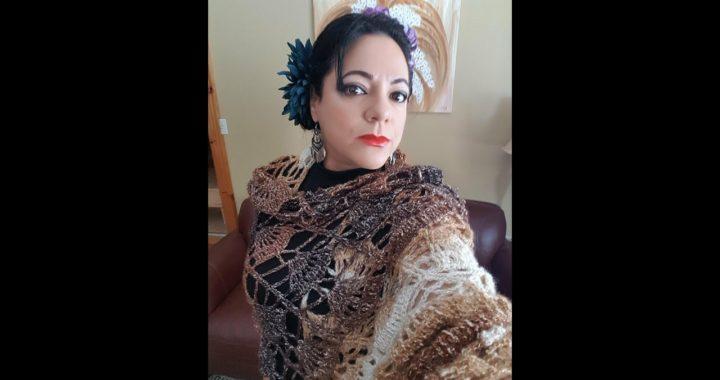 Crochet chal para el dia de las madres
