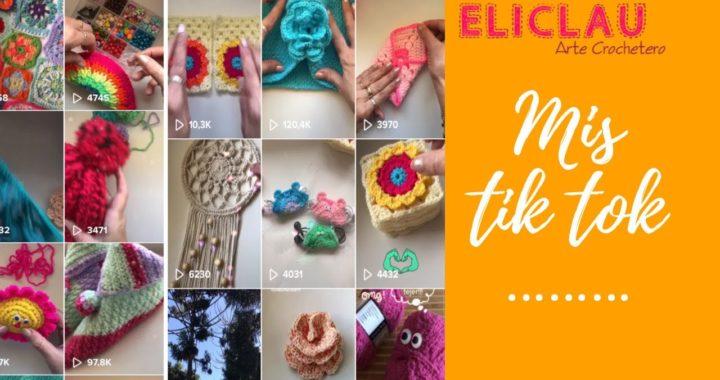 Crochet en pocos pasos con Tik Tok ... Tik Tok Crochetero   EliClau