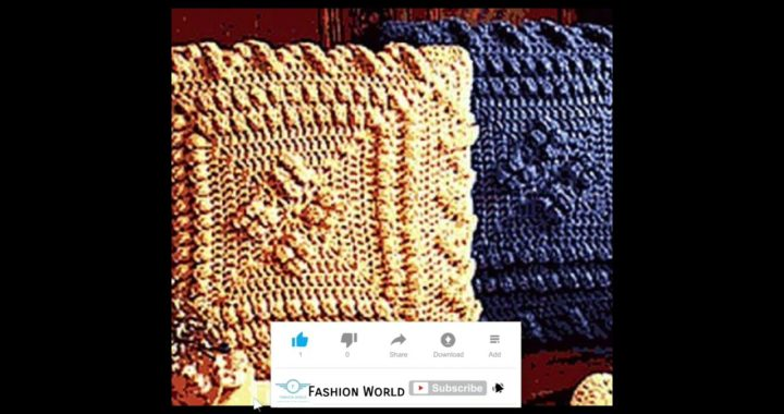 Crochet granny square cushion covers design 2k21 ||amazing ideas and inspiration for crochet lovers