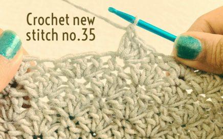 Crochet new stitch no.35 | #Shorts |#shortvideo