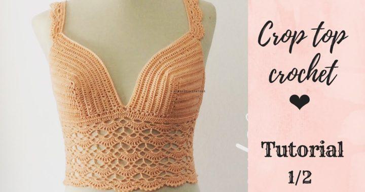 Crop top crochet paso a paso 1/2- TejidoCirculos