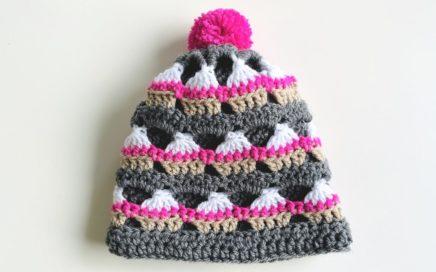 Cup Cake Beanie - Free Crochet Pattern