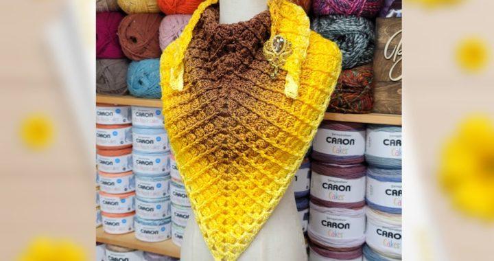 Easy Crochet Shawl   Bag O Day Crochet tutorial
