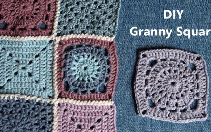 Granny Square | Häkelmuster für Anfänger | 1