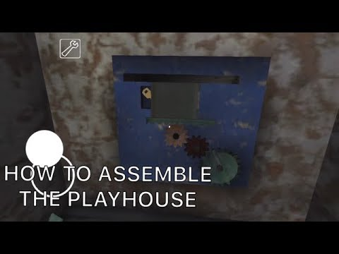 HOW TO ASSEMBLE THE PLAYHOUSE IN GRANNY HORROR GAME