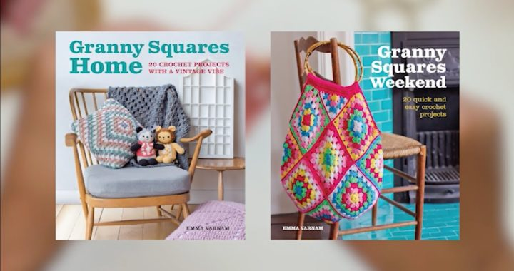 How to build a Granny Square by Emma Varnam: Crochet Tutorial