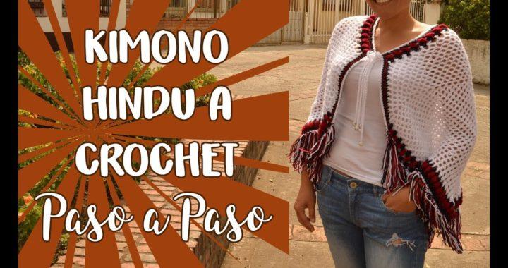 Kimono Hindú a Crochet - Paso a Paso