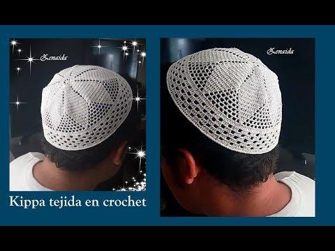 Kippa Tejida en Crochet