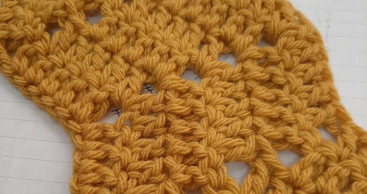 Mi primer ZigZag, aprender a leer y tejer patrones para principiantes, tejido crochet ganchillo