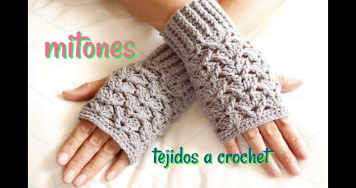 Mitones Estrella -a crochet-