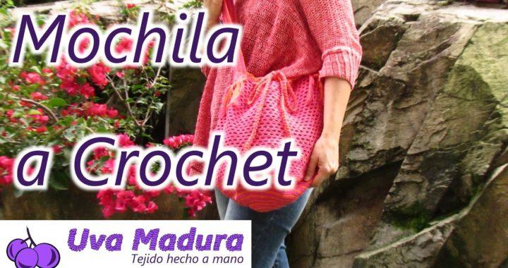 Mochila Bolso tejido a Crochet Ganchillo Paso a Paso