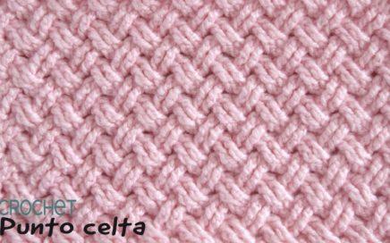 Punto diseño CELTA tejido a crochet / Tejiendo Perú