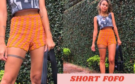 SHORTS FOFO  - CROCHÊ TUTORIAL - PAP