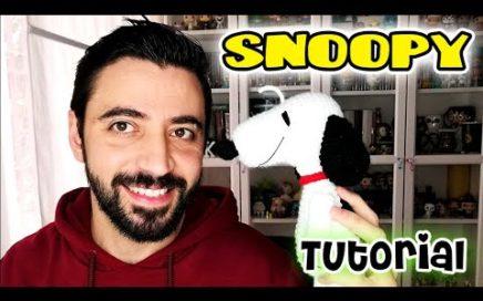 SNOOPY Amigurumi misterioso ENERO amigurumi crochet/ganchillo - Tutorial paso a paso en español
