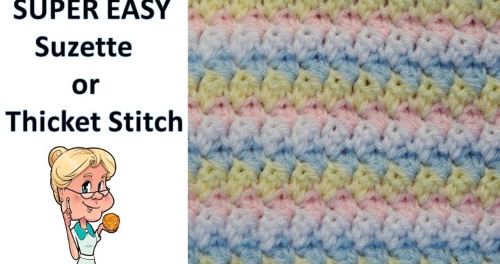 SUPER EASY Stitch of the Week #29 Suzette or (Thicket) Stitch - One Row Repeat