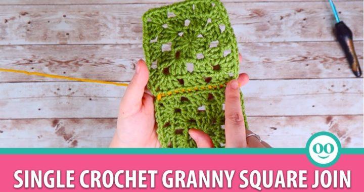 Single Crochet Granny Square Join