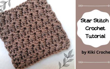 Star Stitch Crochet Tutorial