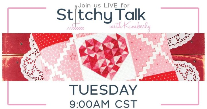 Stitchy Talk #2: Today we're stitching Stitches from the Heart Free Downloadable PDF using NPI silks