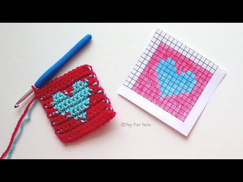 Tapestry Crochet for Absolute Beginners - Learn the Basics of Tapestry Crochet | Yay For Yarn