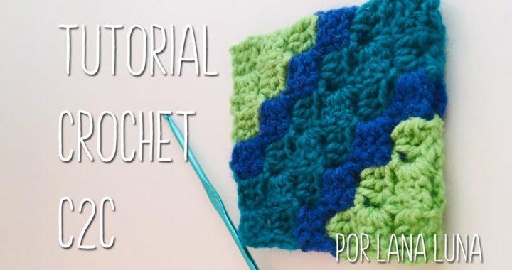 Tutorial Crochet C2C básico