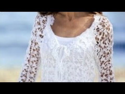 Узор крючком для жакета - Crochet pattern for jacket