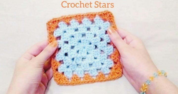 كروشية مربع الجراني | Crochet Granny Square | Crochet Stars