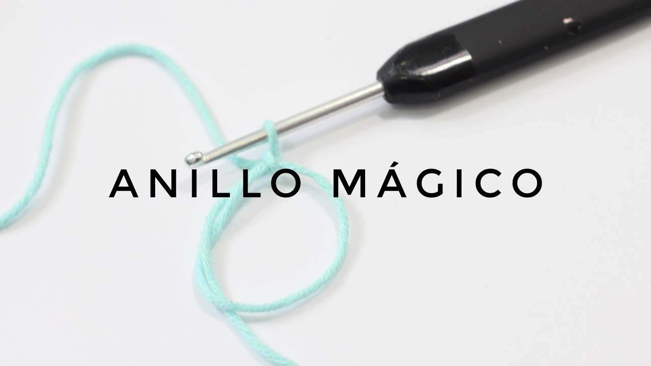 09. ANILLO MÁGICO CURSO DE GANCHILLO BLUE BUBALU