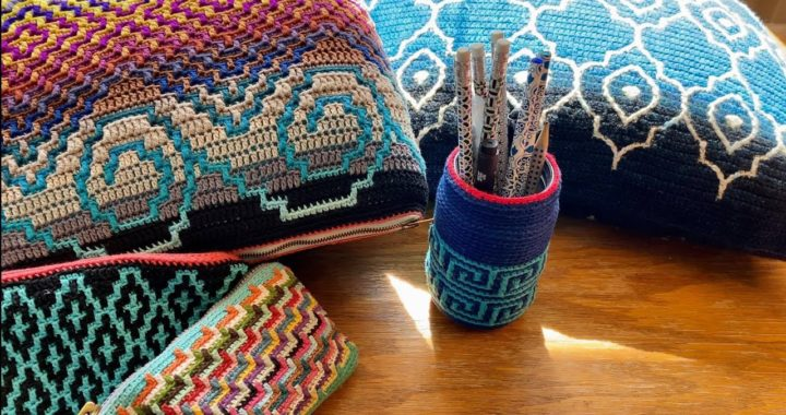 #4 Beginners Guide to Mosaic Crochet - In the Round