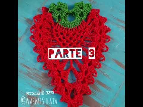 Agarradera, aprender a leer y tejer patrones para principiantes, tejido crochet ganchillo