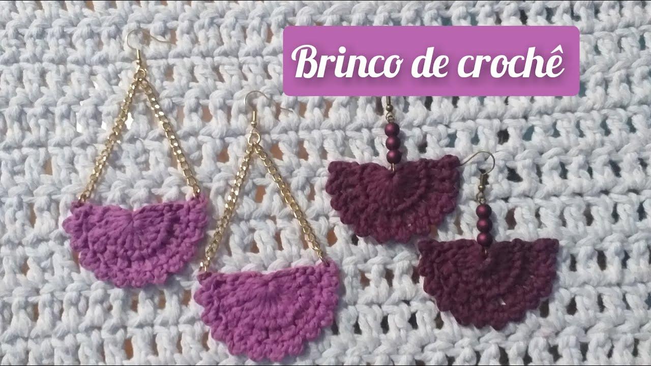 BRINCO DE CROCHÊ FÁCIL - CROCHET TUTORIAL PAP #marcialobocroche