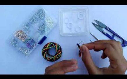 Beautiful Crochet Earring Tutorial | How To Make Handmade Earring