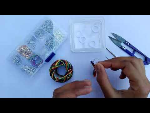 Beautiful Crochet Earring Tutorial   How To Make Handmade Earring