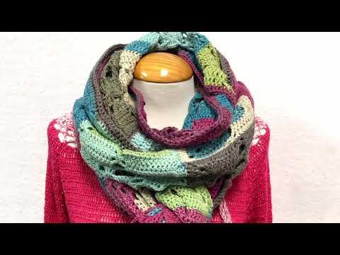 Bufanda de Grannys a crochet